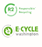 R2 and e-cycle Certified Responsible Recycling