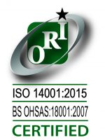 Orion 14001-2015 + OHSAS Certified